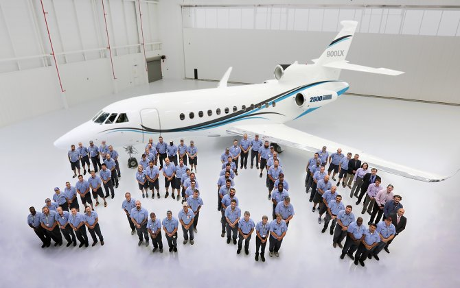 Dassault Delivers 2,500th Falcon Business Jet