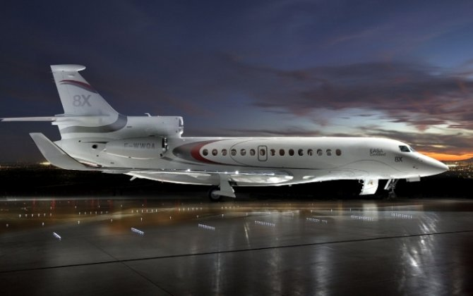 Dassault Delivers First Falcon 8X