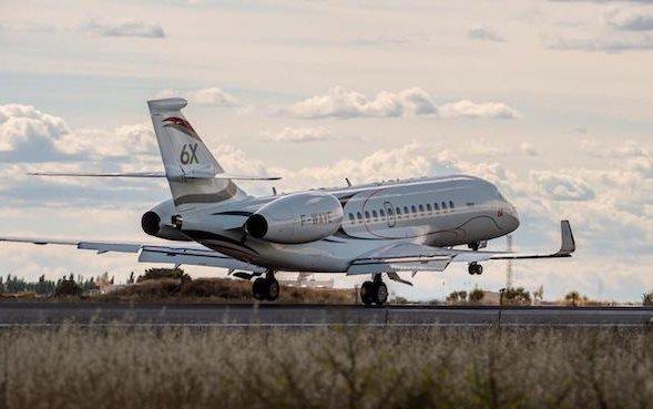 Dassault Falcon 6X test program - now three aircraft