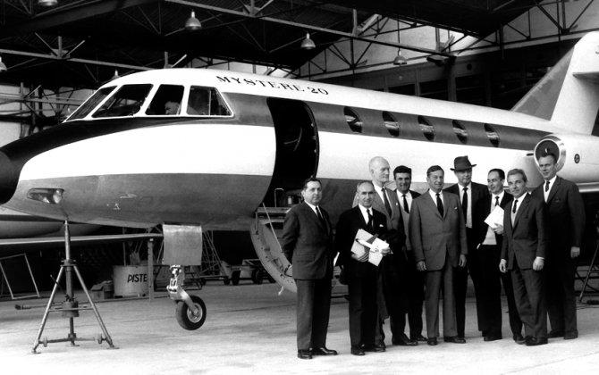 Dassault Falcon Service Celebrates 50th Anniversary