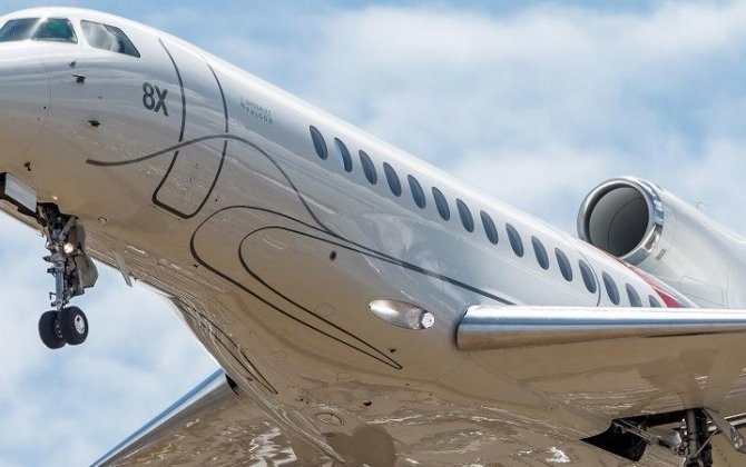 Dassault presented Virtual Falcon 6X at LABACE 2018