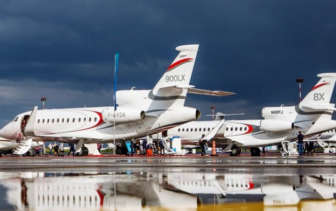 Dassault to Highlight Falcon 8X, 900LX Trijets at RUBAE 2018