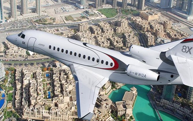 Dassault to Showcase Falcon 8X, 900LX trijets at Dubai Air Show 2017