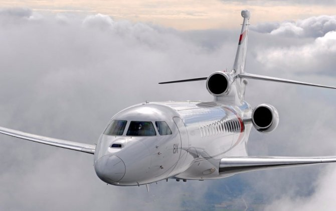 Dassault's Falcon 8X Highlights LABACE 2017