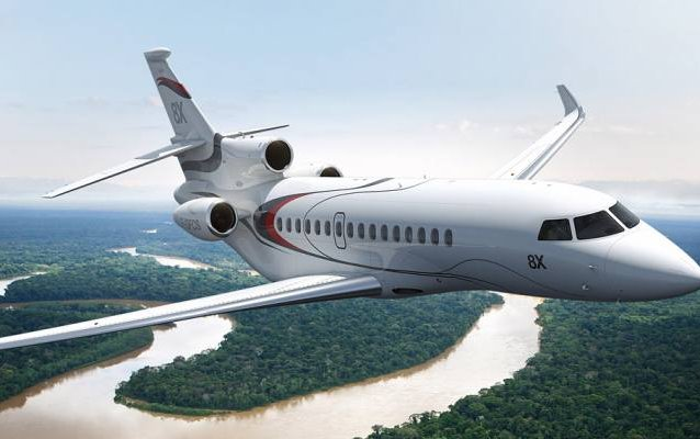 Dassault's Falcon 8X poised for certification