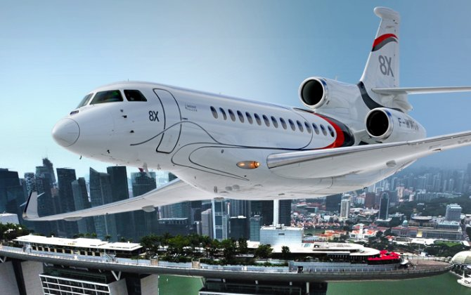 Dassault's Falcon 8X to Make First Appearance at Singapore Airshow