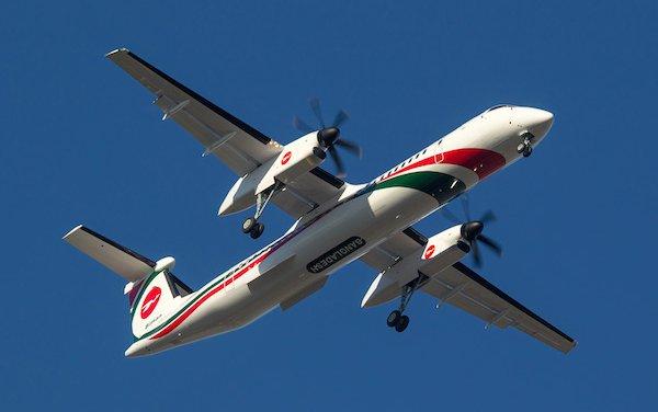 De Havilland Canada delivers Dash 8-400 to Biman Bangladesh Airlines