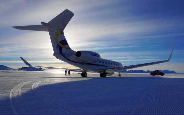 Deer Jet Made History after Maiden Antarctica Landing