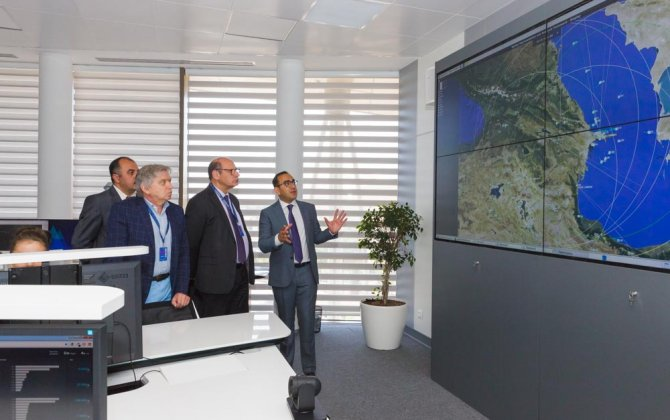Delegation on air traffic network  management in Europe got acquainted with Azerbaijani civil aviation's achievements