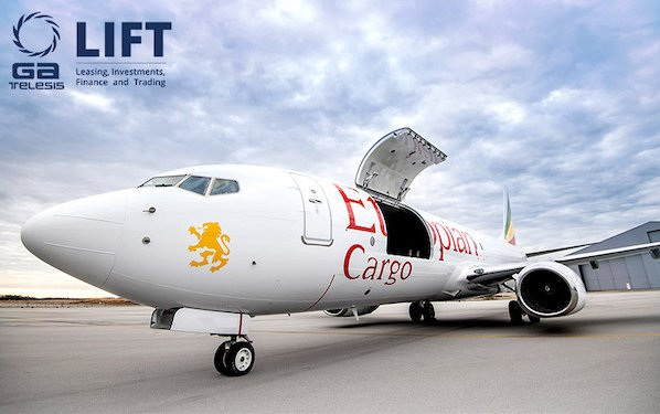 Delivery of first 737-800SF freighter conversion to Ethiopian Airlines