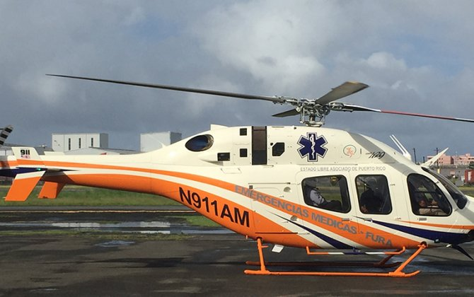 Department of Health of Puerto Rico selects Bell 429 for medical operations