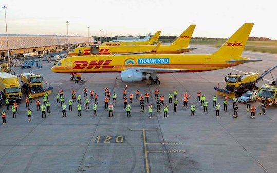 Deutsche Post DHL Group record quarterly earnings and once again corona bonus for employees