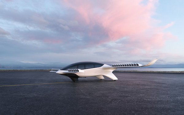 Development of Lilium 7-Seater electric vertical take-off and landing jet