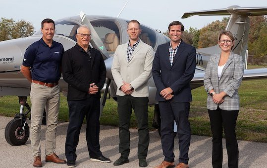 Diamond Aircraft named Exclusive Canadian Dealer - Aviation Unlimited
