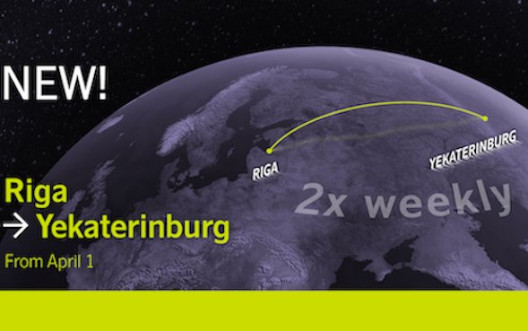 Direct airBaltic flight to connect Riga and Yekaterinburg