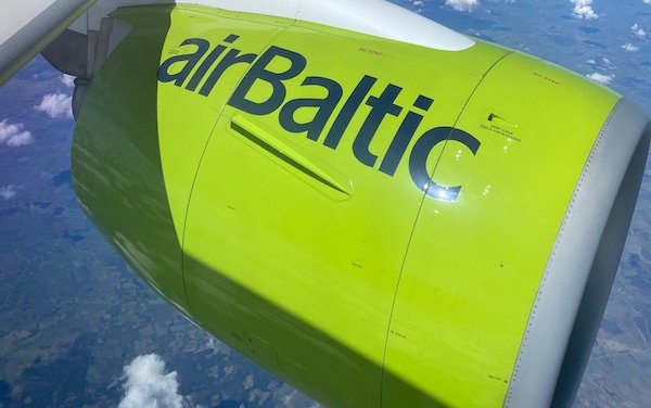 Discovery roundtrip on Airbus A220-300 with airBaltic