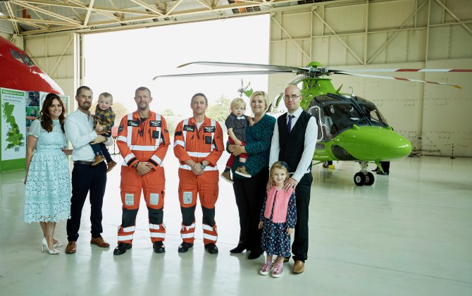 Doncaster welcomes the arrival of New Children's Air Ambulance