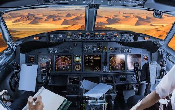 Driest workplace on Earth - Flight Deck