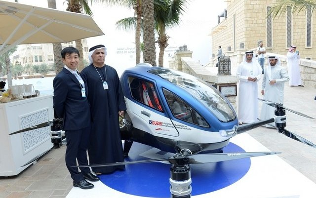 Dubai to launch driverless flying cars by this summer
