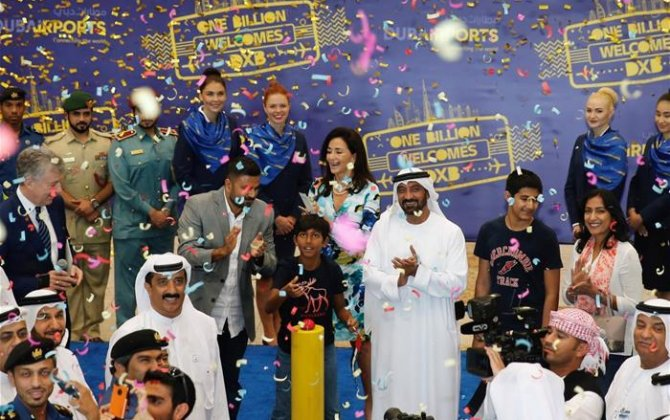 DXB welcomes its billionth passenger