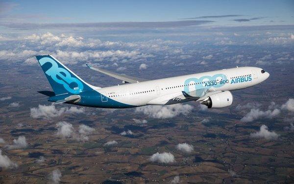 EASA Type Certification granted to A330-800