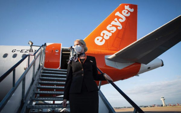 easyJet cabin crew to be fast tracked to support the NHS vaccination programme