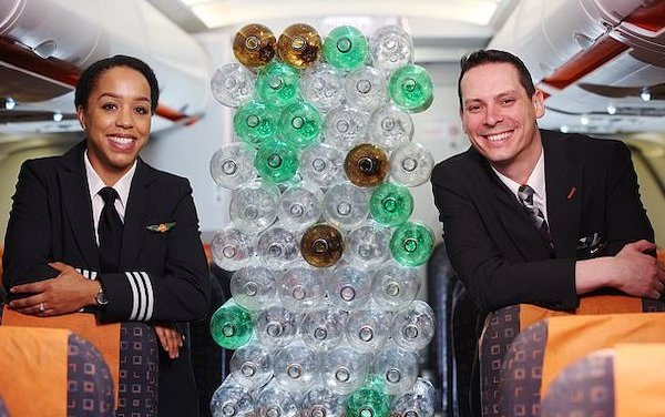 easyJet introduces new cabin crew and pilot uniforms made from recycled plastic bottles