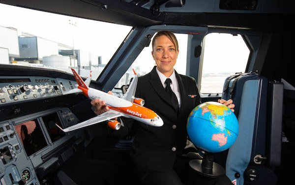 easyJet launches Virtual Pilot School Visits programme on International Women's Day