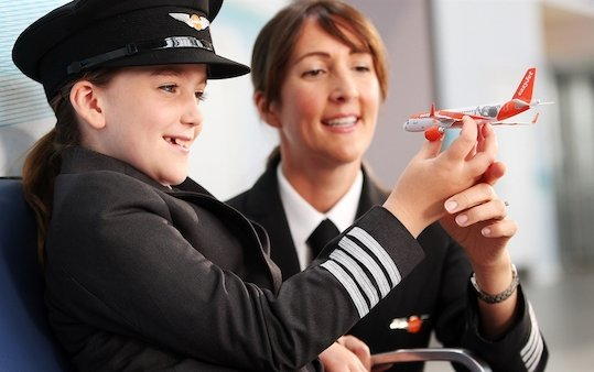 easyJet progress on recruiting female pilots as it reports on its annual gender pay gap