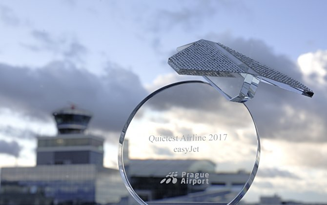 easyJet Wins the Title of Quietest Airline at Václav Havel Airport Prague