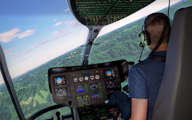 Ecocopter takes delivery of Frasca EC135 simulator