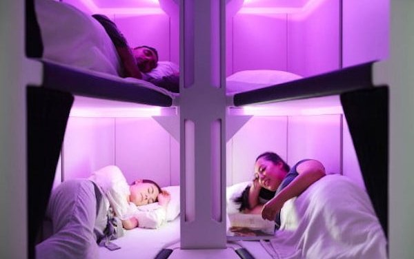 Economy Skynest  to put economy travellers to sleep