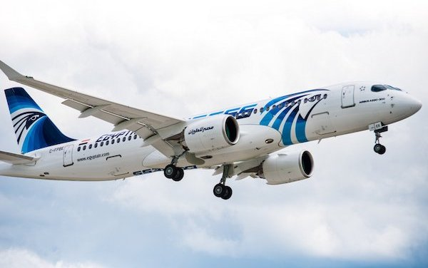 EGYPTAIR first A220 delivered