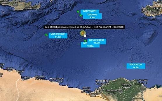 EgyptAir flight MS804 crash: 'Debris found'