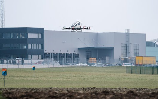 EHang 216 received long-term trial flight permit across Austria National Airspace
