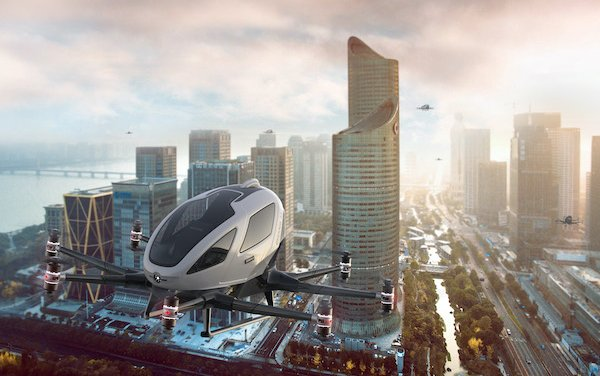 EHang Joins European Union AMU-LED project to demonstrate Urban Air Mobility