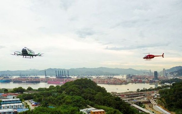 EHang Partners with HELI-EASTERN for Urban Air Mobility Operations
