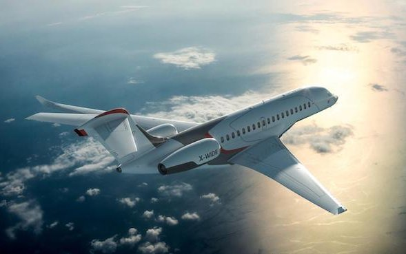 Electrical power distribution & control on the Dassault Falcon10X - GE Aviation