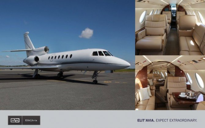 Elit'Avia add 2nd Falcon50EX to its midsize fleet