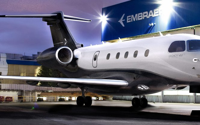 Embraer and AirSprint make maiden voyage of Legacy 450 business jet to Hawaii