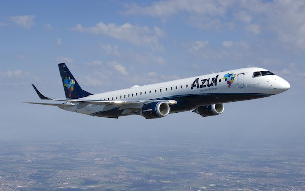 Embraer and Azul Sign Repair Management Program to Support E190 and E195 fleet