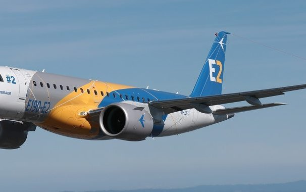 Embraer Announces Delivery of the First E190-E2 in April of 2018