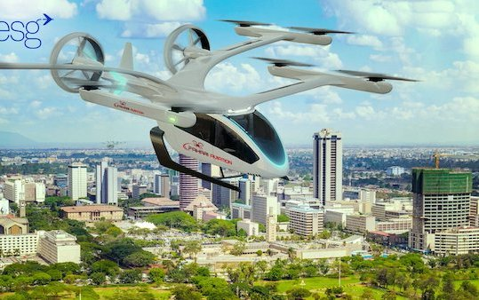 Embraer Eve and Kenya Airways partner on the future of Urban Air Mobility