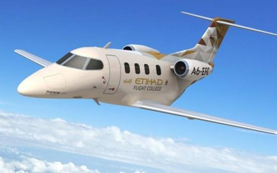 Embraer Executive Jets delivers first Phenom 100E to Etihad Flight College