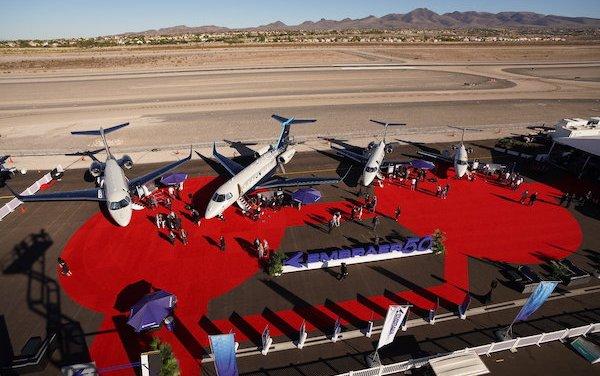 Embraer Executive Jets' European demo fleet got new home