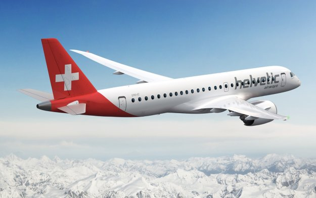 Embraer, Helvetic Airways Sign Letter of Intent for Up to 24 E2s