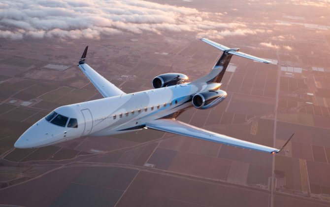 Embraer introduces the Legacy 650E, offering industry's longest warranty