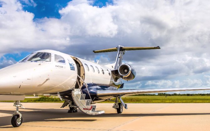 Embraer Makes EBACE Debut of Phenom 300E - new model of world's most-delivered light business jet for past 6 years