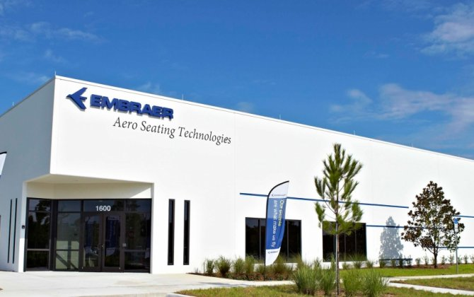 Embraer Opens Aircraft Seat-building Plant in Florida