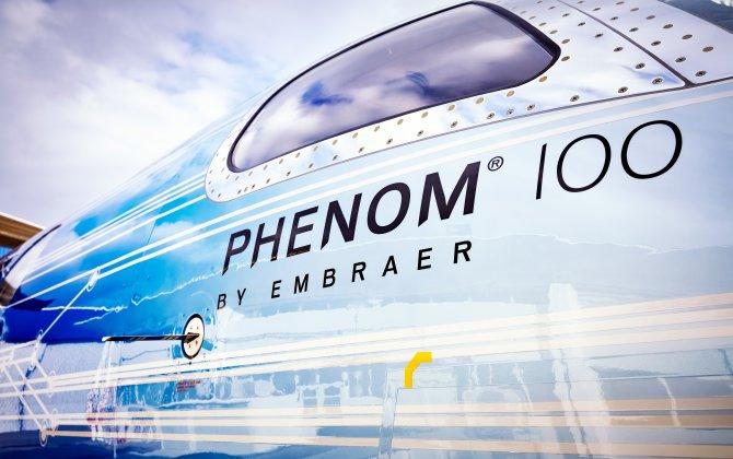Embraer Phenom 100 EV debuts at NBAA 2016